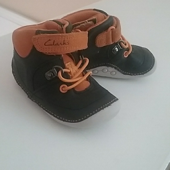 7be95c69b6b Clarks Other - Baby Boy Clark s Walking Shoes ...
